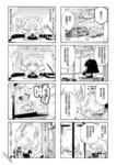 电话少女小黑漫画第4话